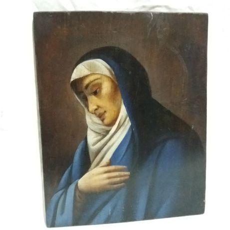 старовинна ікона Богородиця, Марія, Богоматір, старинная икона 4