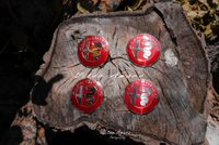 4 Símbolos/Logos para Jantes em Alumínio Alfa Romeo Nº4 | NOVOS
