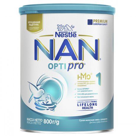 Суха молочна суміш NAN Optipro 1, 800 г