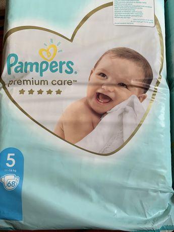 Памерсы Pampers premium care р5 11-16кг 136 шт