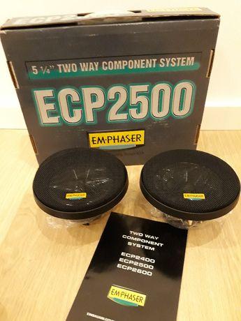 Zestaw car audio EMPHASER ECP 2500, 130mm, 100W, głośniki samochodowe