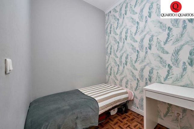 Quarto cama de solteiro metro de Colégio Militar / Benfica / Colombo