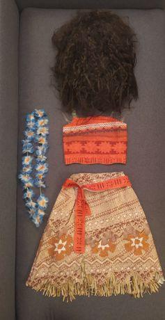 Rezerwacja Strój karnawałowy kostium Vaiana Moana Hawajka 160cm