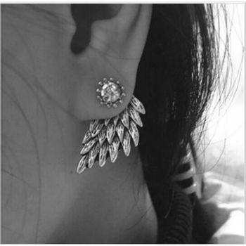 """сережки серьги """"крилья ангела"""""""