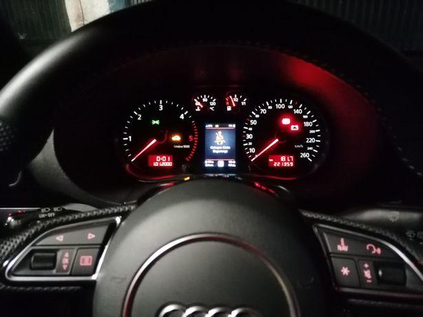 Quadrante Audi A3 8L Cores 3D MFD VDO computador de bordo