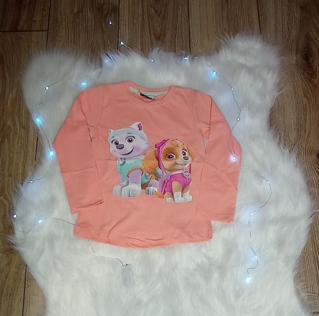 Bluzeczka koralowa Everest Skay Psi Patrol nowa 86/92