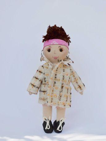 Кукла с одеждами, подарок девочке, игрушки ручной работы
