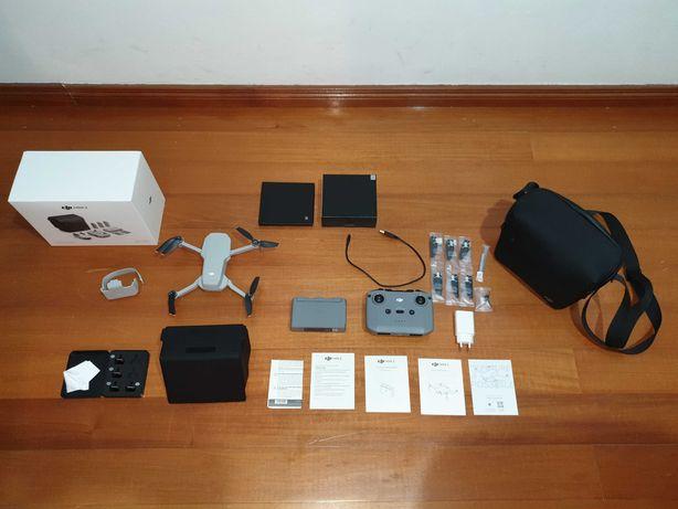 DJI Mini 2 Combo c/ garantia, Care Refresh, Filtros ND, Protetor Sol
