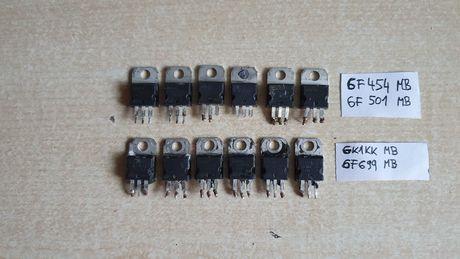 Mosfety do naprawy kontrolera BLDC hulajnogi elektrycznej roweru