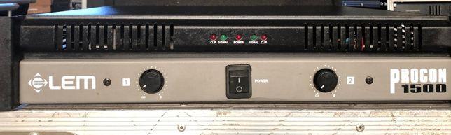 Amplificador LEM Procon 1500