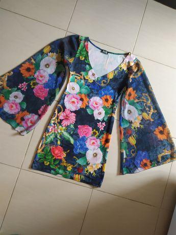 /Dolce & Gabbana/ летнее платье/котельное платье/цветочный принт