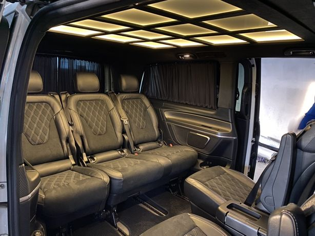 Переоборудование, обшивка микроавтобуса Т5 Т6 Vito Caddy Трафик Виваро
