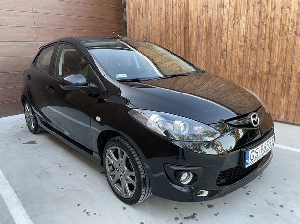 Mazda 2 SPORT / klima /alu / czarna / super stan / polecam / zamiana