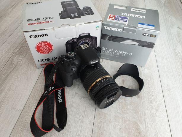 Canon 750d Tamron 17-50 2.8