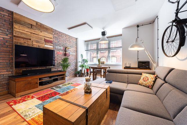 Piękna stara drewniana skrzynia stolik kawowy, szafka TV industrial