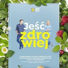 Jeść zdrowiej książka Lidla Nowa Folia 3 tomy super przepisy!