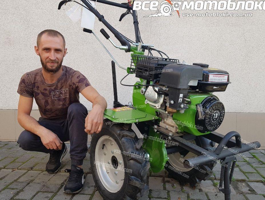 Мотоблок Кентавр 2070Б-4 – бензин 7лс. Привезём - БЕСПЛАТНО! Киев - изображение 1