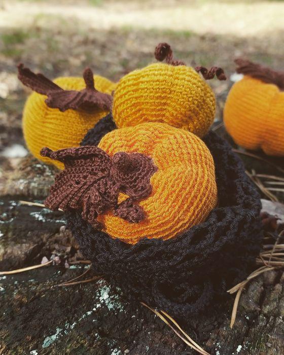 Амигуруми игрушка мягкая тыква Ирпень - изображение 1