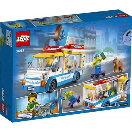 Lego 60253 City Great Vehicles Furgonetka Z Lodami