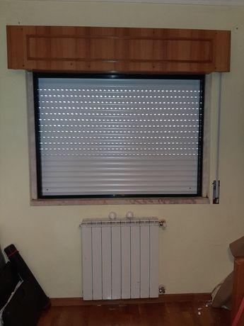 Montagem Estores alumínio termico/pvc/rolo/redes mosquiteiras