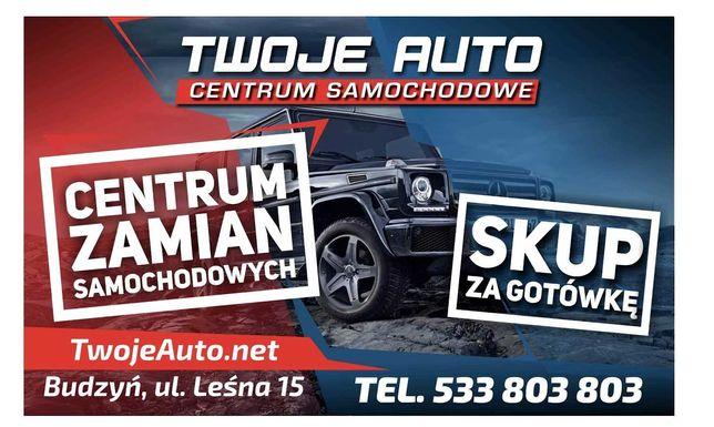 Największy Skup Samochodów Budzyń TWOJE AUTO  Gotówka !! Zdalna Wycena