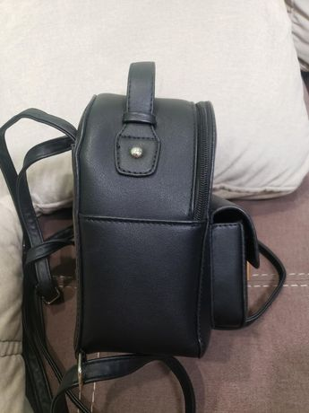 Рюкзак чёрный маленький