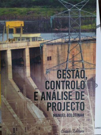 Livro gestão, controlo e análise de projeto