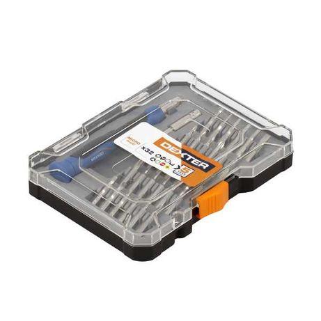 Caixa ferramentas Dexter 32 bits