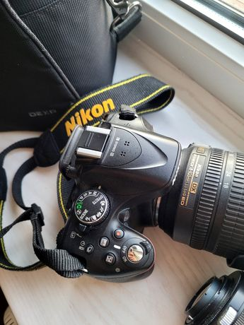 Фотоаппарат nikon 5200 (18-105mm) + подарок