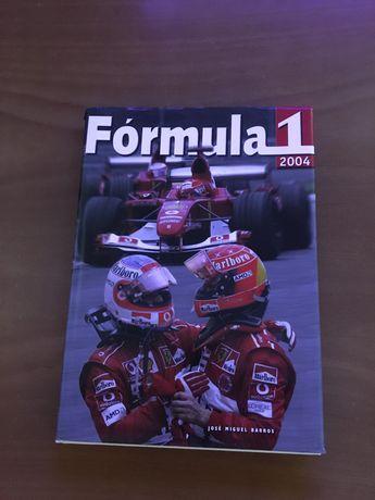 Livro Fórmula 1 2004