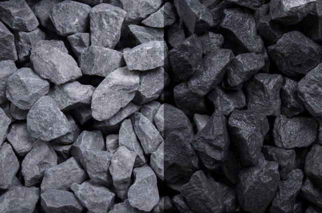 CZARNY BAZALT Grys Bazaltowy 8-16, 16-22 Kamień do Ogrodu Opaska Żwir