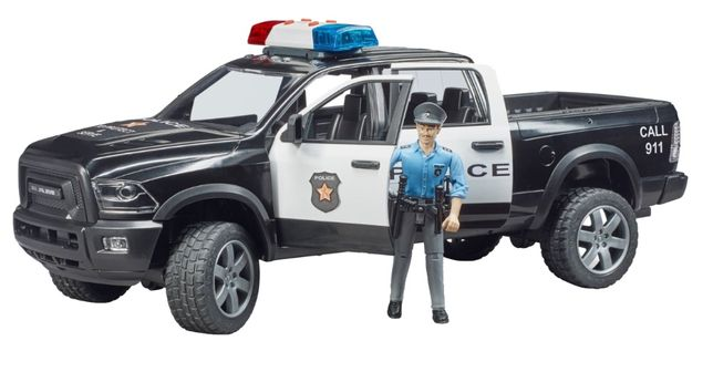 Bruder 02505 Policja Dodge policyjny + policjant Nowość 2020