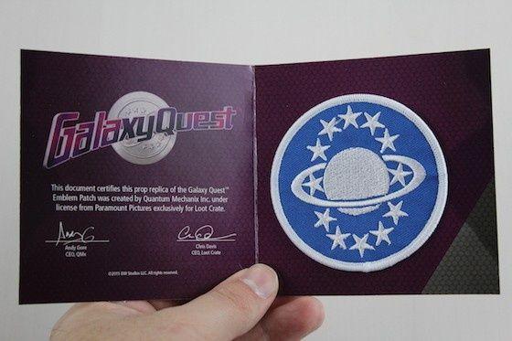 Naszywka Galaxy Quest