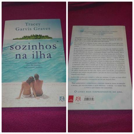 "Livro ""Sozinhos na Ilha"""