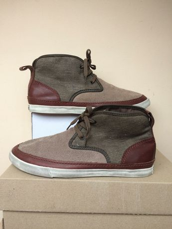 Converse кожаные мокасины кроссовки 42- 43р 28см стелька