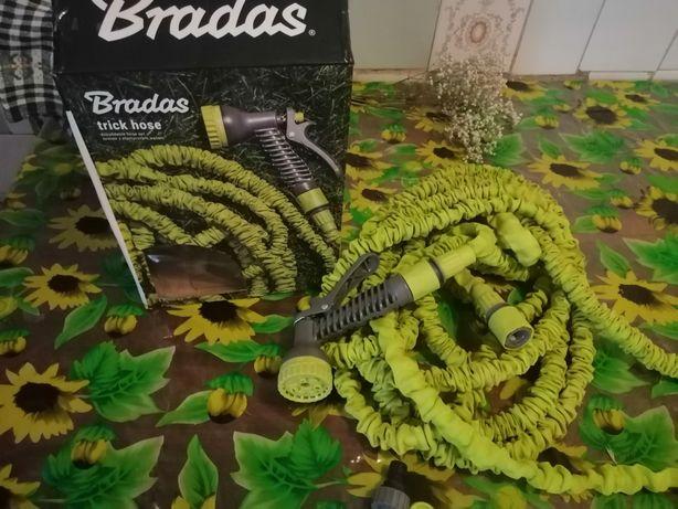 Продам шланг-садовой BRADAS 7-22 м, растягивающийся в 3 раза
