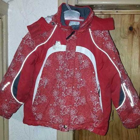 Куртки детские на 4-5 лет