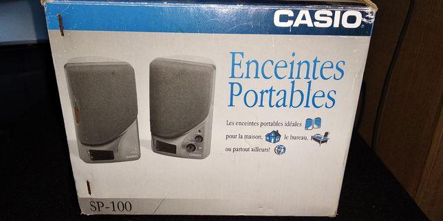 Colunas som amplificadas Casio SP-100
