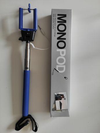 Monopod selfie stick regulowana długość