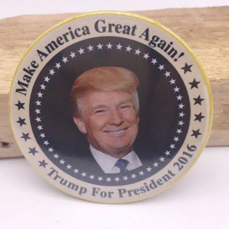 Pin Campanha eleitoral Trump - portes grátis