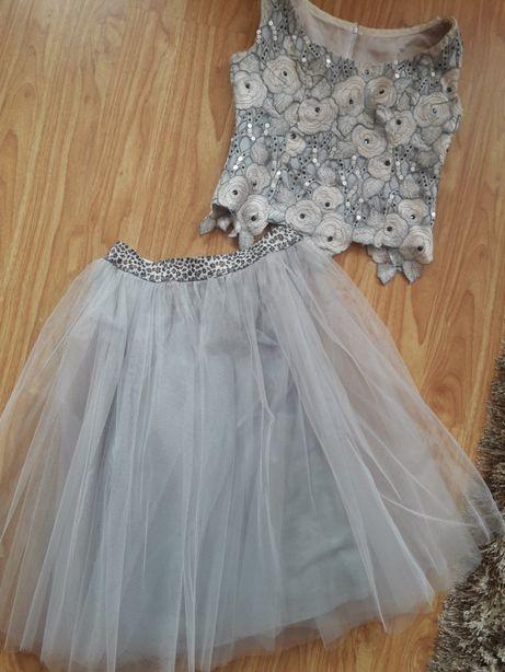Платье плаття костюм фатин юбка корсет на 9-11лет.