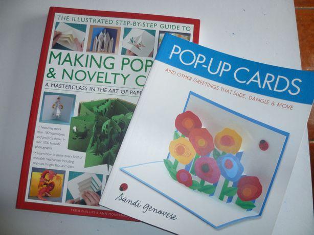 2 livros que ensinam a fazer cartões-inglês