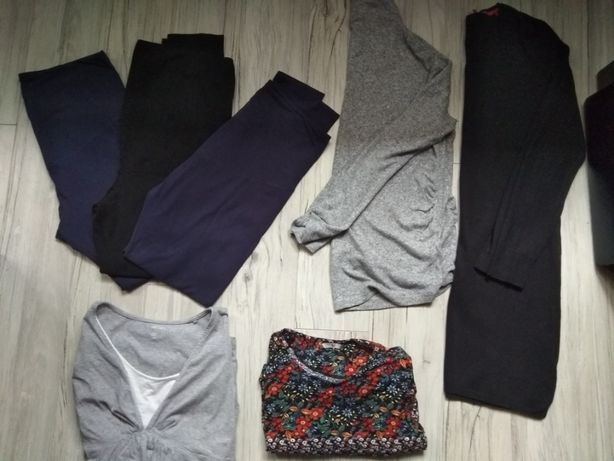 Ubrania ciążowe L/Xl+dużo gratisów!