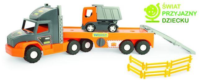 Wader Auto Super Tech Truck laweta z wywrotką