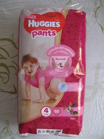 Памперсы Huggies pants 4 хаггис Подгузники-трусики для девочки