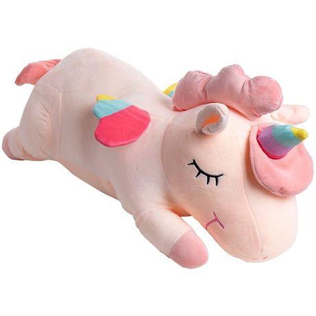 Плед игрушка  подушка Единорог 3 в 1