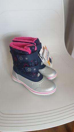 Nowe Kozaki śniegowe  buty zimowe rozmiar 29