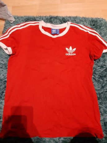 Koszulka Adidas czerwona