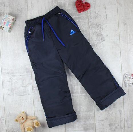 Зимние штаны на флисовой подкладке, тёплые штаны