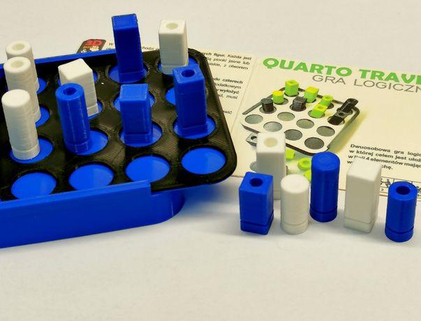 Quarto Travel - gra logiczna, wersja podróżna